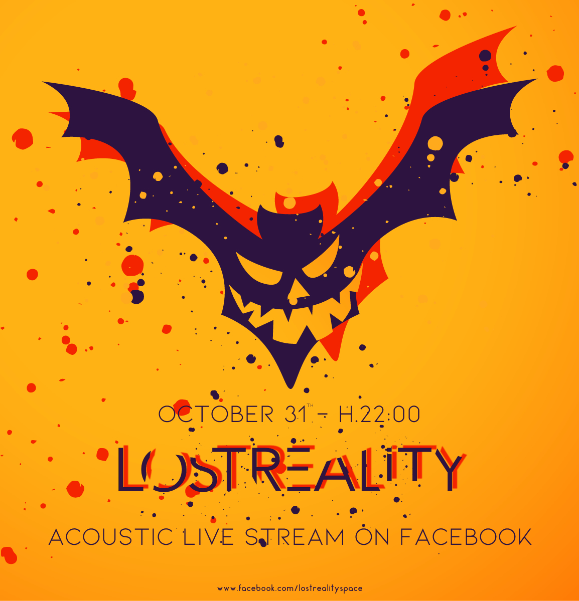 Lost Reality - Acoustic live stream on facebook